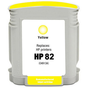 HP 82 - C4913A Yellow replacement