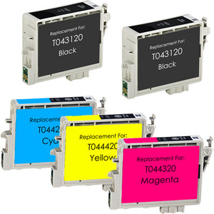 Epson T0431-T0442-T0443-T0444 5-pack replacement