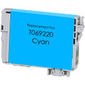 Remanufactured replacement for Epson T069220 cyan ink cartridge