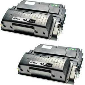 HP 45A - Q5945A Black 2-pack replacement
