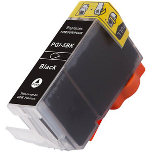 Canon PGi-5BK black ink cartridge replacement