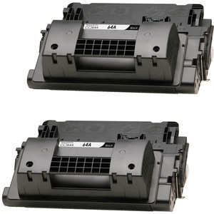 HP 64A - CC364A Black 2-pack replacement