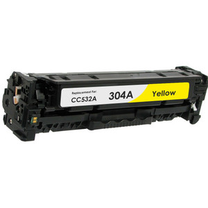 HP 304A - CC532A Yellow replacement