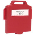 Pitney-Bowes 765-3 fluorescent red ink cartridge