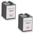 Pitney-Bowes 765-9 fluorescent red ink cartridge