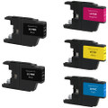 Brother LC75 Set 5-Pack replacement