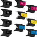 Brother LC75 Set 10-Pack replacement
