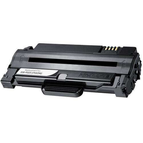 Compatible Dell 330-9523 Toner Cartridge, Black (7H53W), For Dell 1130,  1133 and 1135 Printer Series