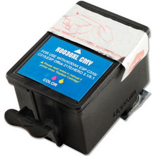 Compatible Kodak 30XL Ink Cartridge, Color, High Yield (1341080)