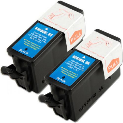 2 Pack - Compatible Kodak 30XL Ink Cartridge, Black, High Yield (1550532)