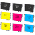 Epson T125 Black and Color Set 9-pack replacement