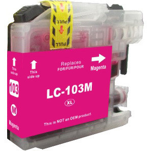 Brother LC103 Magenta replacement