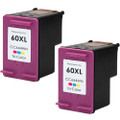 HP 60XL Color 2-pack replacement