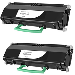 Lexmark E450H11A - 2 pack
