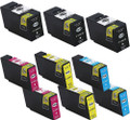 Canon PGI-1200XL Black & Color 9-pack replacement
