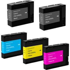 Canon PGI-2200xl Black & Color 5-pack replacement
