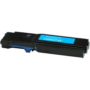 cyan toner cartridge replacement for Xerox 106R02744