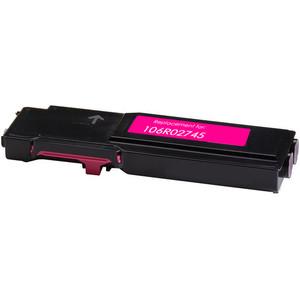 magenta toner cartridge replacement for Xerox 106R02745