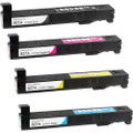 HP 827A Toner Cartridge High Yield Combo Pack. Includes 1 Black, 1 Cyan, 1 Magenta and 1 Yellow
