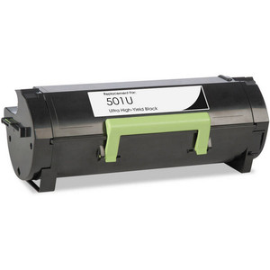 Lexmark 501U - (50F1U00) Ultra High Yield black toner cartridge