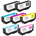 7 Pack - High Yield Epson 277XL Ink Cartridge Set