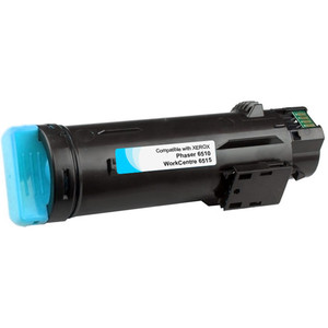 Xerox Phaser 6510 Cyan Toner, Extra High Yield