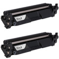 Twin pack, HP 30A Toner Cartridge, Black (CF230A)