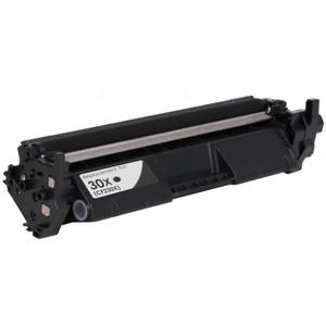 HP 30X Toner Cartridge, Black, High Yield (CF230X)