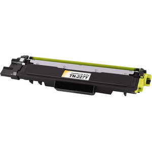 Brother TN227Y Toner Cartridge, Yellow, High Yield