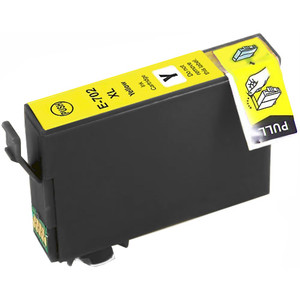 Epson 702XL Yellow Ink Cartridge, High Yield (T702XL420)