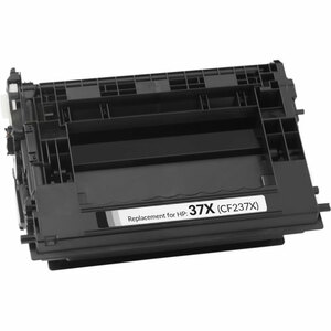 HP 37X Toner Cartridge, Black, High Yield