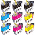 Brother LC3013 Ink Cartridge, High-Yield, 4-Pack