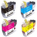 Brother LC3017 Ink Cartridge, High-Yield, 4-Pack