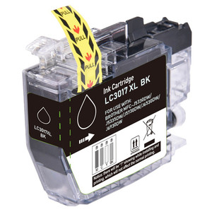 Brother LC3017BK Ink Cartridge, Black, High-Yield