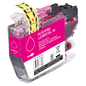 Brother LC3017M Ink Cartridge, Magenta, High-Yield