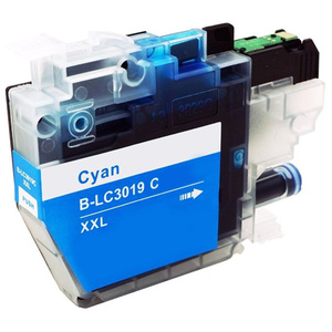 Brother LC3019C Ink Cartridge, Cyan, Super High-Yield