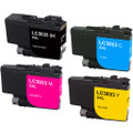 4-Pack Brother LC3033 Ink Cartridge Set, Super High Yield