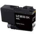Brother LC3033BK Ink Cartridge, Black, Super High-Yield