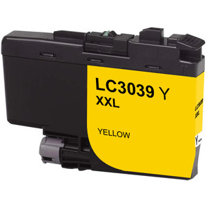 Brother LC3039Y Ink Cartridge, Yellow, Ultra High-Yield