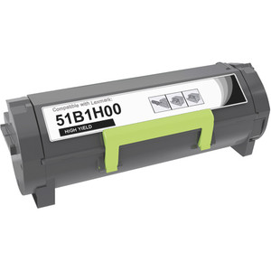 Lexmark 51B1H00 Toner Cartridge, High-Yield