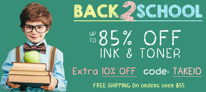 Back to school sale 10% Off + free shipping offer