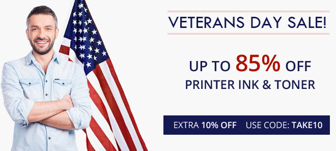 Veterans Day sale 10% Off + free shipping offer