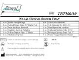 Bioseal Nasal/Tonsil Bleed Tray