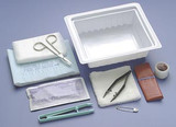 Dressing Change Tray With Instruments