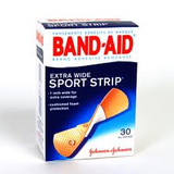 Band-Aid® Sport Strip® Adhesive Bandages