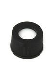 Black, Screw Neck Cap and preslit PTFE/silicone Septum, 100/
