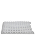 Polypropylene Cap Mat Square Well for 96 well plate;Waters 2