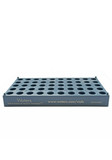 50 position vial holder for 12 x 32 mm vials, 5 pack;