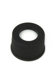 Black, 15 x 45mm Cap and PTFE/silicone Septum, 4 mL Volume,