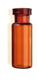 Deactivated Amber Glass 12 x 32mm Snap Neck Vial, 2 mL Volume